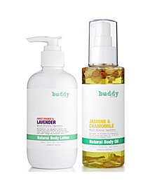 Buy 1 Get 1 25% off Select Buddy Scrub Products