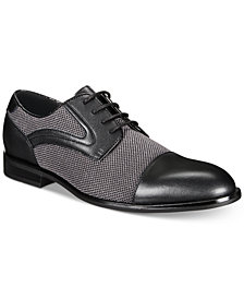 Alfani Men's Alfatech Cole Mesh Lace-Up Shoes, Created for Macy's