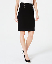 Anne Klein Pull-On Pencil Skirt
