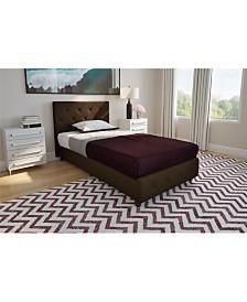 EveryRoom Dana Twin Upholstered Bed