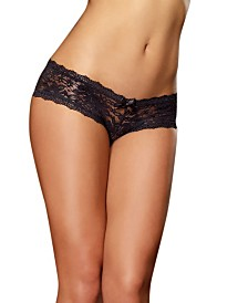 Dreamgirl Low Rise Cheeky Hipster Underwear