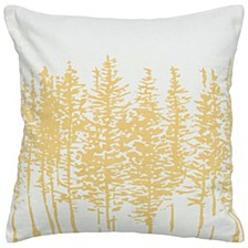"18"" x 18"" Trees in a Line Pillow Cover"