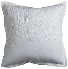 """20"""" x 20"""" Flower and Flourish Pillow Cover"""
