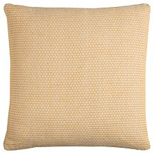"""Rizzy Home 22"""" x 22"""" Geometrical Design Pillow Cover"""