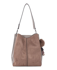 Céline Dion Collection Leather-Like Harmony Hobo