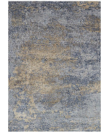 "Loloi Patina PJ-05 Ocean/Gold 18"" Square Swatch"