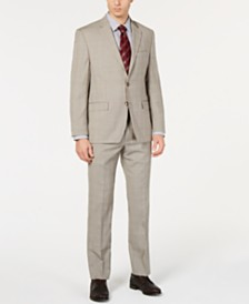 Lauren Ralph Lauren Men's UltraFlex Classic-Fit Plaid Suit Separates