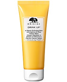 Origins Drink Up 10 Minute Hydrating Mask With Apricot & Swiss Glacier Water, 2.5-oz.