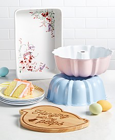 Martha Stewart Collection Pastel Open Stock Collection, Created for Macy's