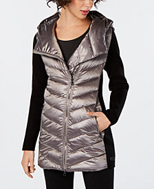 Calvin Klein Performance Asymmetrical Puffer Jacket