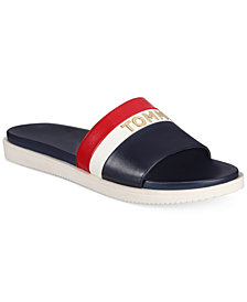 Tommy Hilfiger Sandee Slide Sandals, Created for Macy's