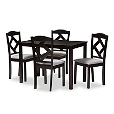 Ruth 5 Piece Dining Set