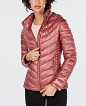 4c0d82467c89 Calvin Klein Hooded Packable Puffer Coat