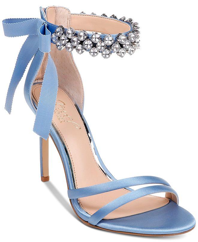 Jewel Badgley Mischka Debra Evening Sandals