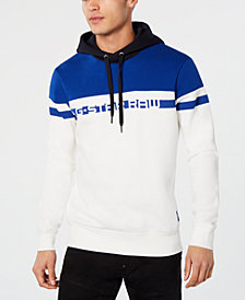 G-Star RAW Men's Colorblocked Logo Hoodie, Created for Macy's