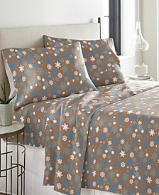 Heavy Weight Cotton Flannel Sheet Set