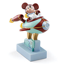 Lenox Mickey Goes To The Moon Lit Figurine