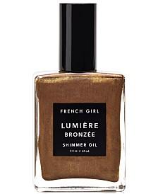 French Girl Lumière Bronzée Shimmer Oil, 2-oz.