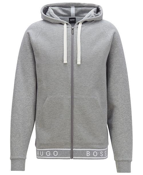 Hugo Boss BOSS Men's Full-Zip Cotton Hoodie
