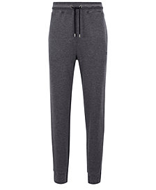 BOSS Men's Double-Faced Sweatpants