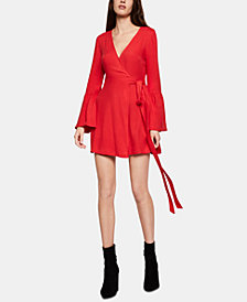 BCBGeneration Faux-Wrap A-Line Dress