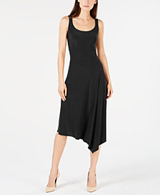Anne Klein Sleeveless Asymmetric A-Line Dress