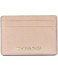 MICHAEL Michael Kors Pebble Leather Card Holder