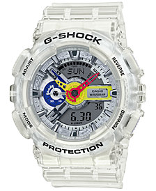 G-Shock Men's Analog-Digital A$AP Ferg Clear Resin Strap Watch 51.2mm - A Limited Edition