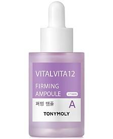 TONYMOLY Vital Vita 12 Vitamin A Firming Ampoule, 1-oz.