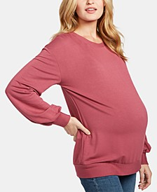 Maternity French Terry Sweatshirt