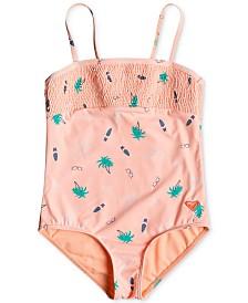Roxy Toddler Girls Printed Swimsuit