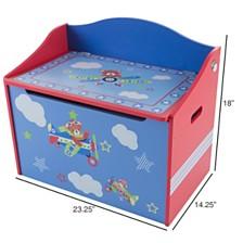Toy Box - Storage Bench Seat By Hey Play