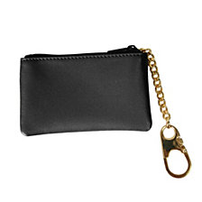 Royce Slim Coin and Key Holder Wallet in Genuine Leather