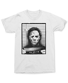 Michael Myers Mug Shot Men's Graphic T-Shirt