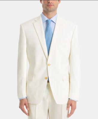 Men's Wool Ultraflex Classic-Fit Twill Jacket