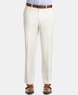 Men's UltraFlex Classic-Fit Twill Wool Pants