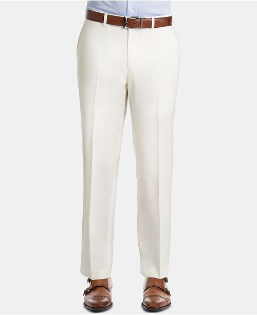 Lauren Ralph Lauren Men's UltraFlex Classic-Fit Twill Wool Pants