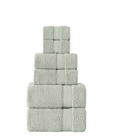 Certified 100% Organic Cotton Towels, 6 Piece Set