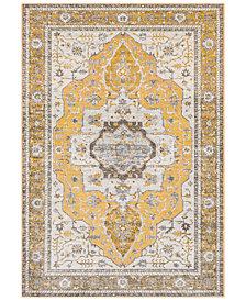 "Surya Aura Silk ASK-2322 Saffron 7'10"" x 10'3"" Area Rug"
