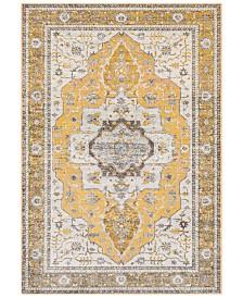 "Surya Aura Silk ASK-2322 Saffron 5'3"" x 7'6"" Area Rug"