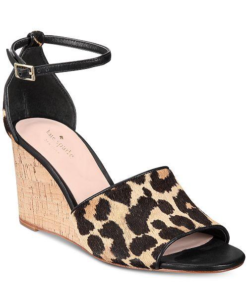 350eb0d0b kate spade new york Lonnie Wedges   Reviews - Sandals   Flip Flops ...