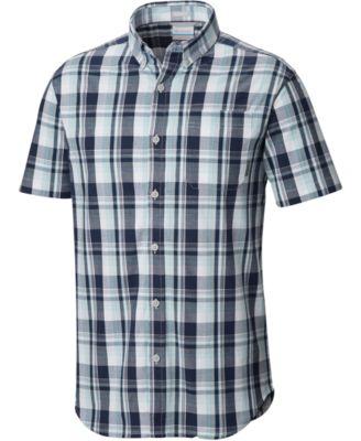 columbia men\u0027s shirts macy\u0027scolumbia men\u0027s rapid rivers short sleeve shirt