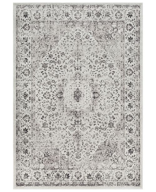 "Surya Chelsea CSA-2306 Medium Gray 7'10"" x 10'3"" Area Rug"