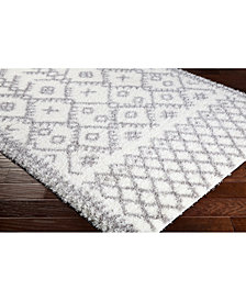 "Surya Cloudy Shag CYS-3417 Cream 18"" Square Swatch"