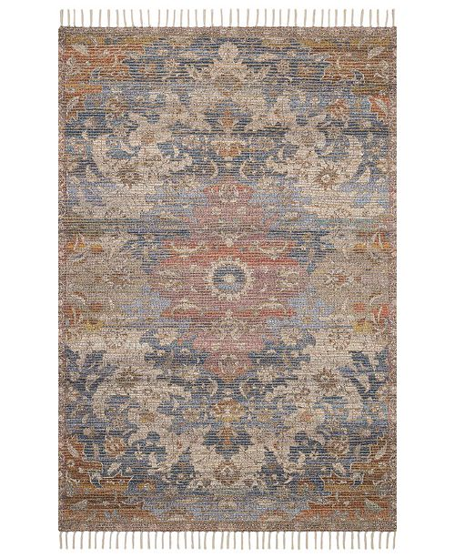 "Justina Blakeney Cornelia COR-06 Denim/Multi 2'3"" x 3'9"" Area Rug"