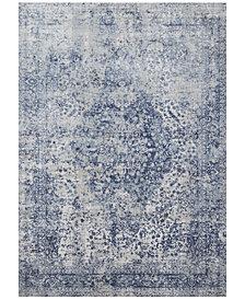 "Loloi Patina PJ-04 Blue/Stone 5'3"" Round Area Rug"