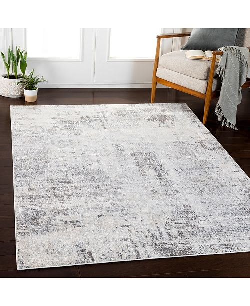 Surya Genesis Gns 2306 Silver Gray 9 3 Quot X 12 3 Quot Area Rug