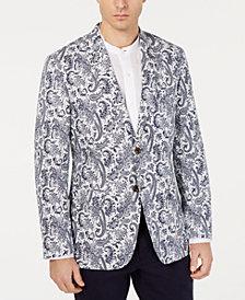 Tasso Elba Men's Paisley-Print Seersucker Sport Coat, Created for Macy's