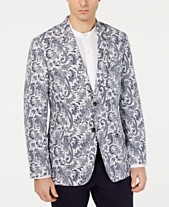 e6647c53 Tasso Elba Men's Paisley-Print Seersucker Sport Coat, Created for Macy's
