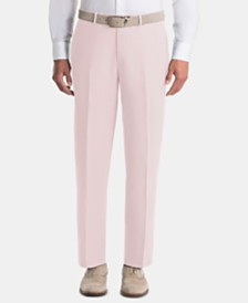 Lauren Ralph Lauren Men's UltraFlex Classic-Fit Pink Linen Pants